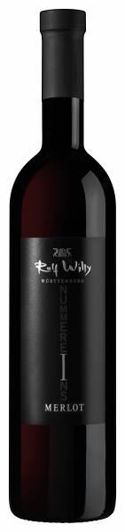 Rolf Willy Merlot trocken Barrique Nummer Eins 0,75 Liter