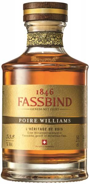 Fassbind Poire Williams L' Heritage de Bois 0,5l