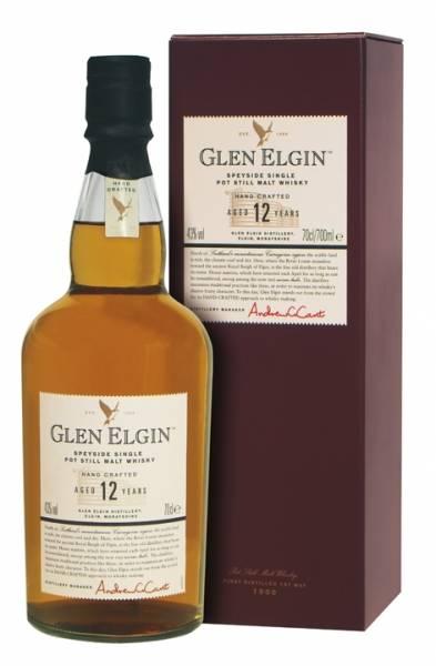 Glen Elgin 12 Jahre 0,7 Liter