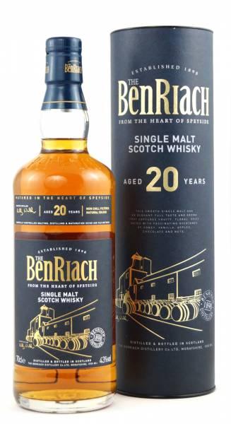 BenRiach 20 Jahre 0,7 Liter