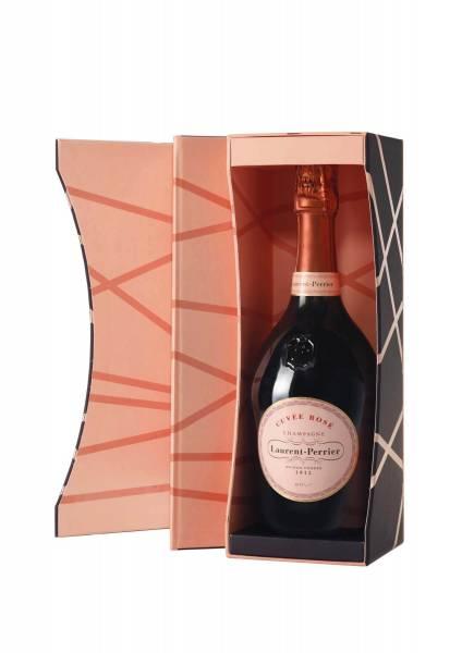 Laurent Perrier Rose in Geschenkverpackung 0,75 Liter