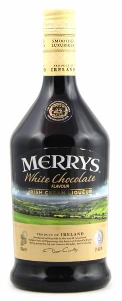 Merrys White Chocolate Irish Cream Liqueur 0,7l