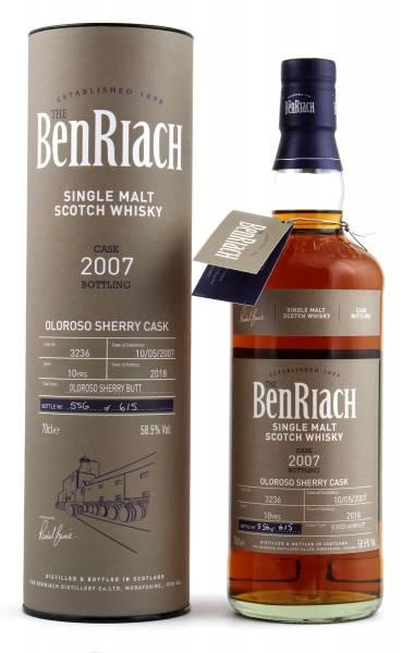 BenRiach 10 Jahre Cask #3236 Batch 15 0,7l