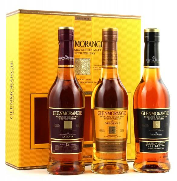 Glenmorangie Trio Tasting Geschenkset 3x0,35l
