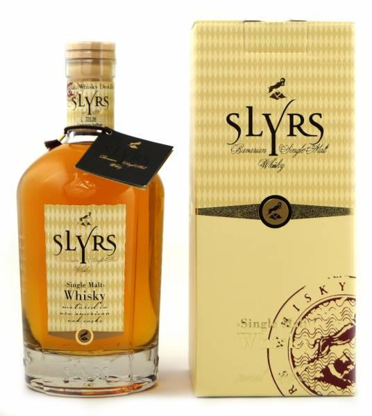 Slyrs Single Malt Whisky in Geschenkverpackung 0,7 Liter