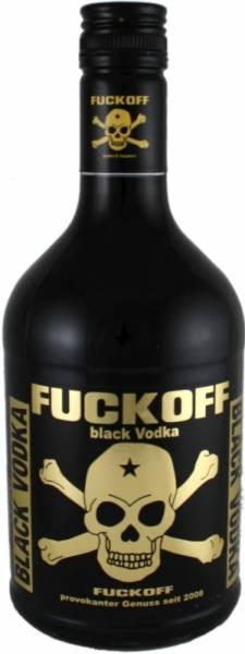 Fuck Off Black Vodka 0,7 Liter