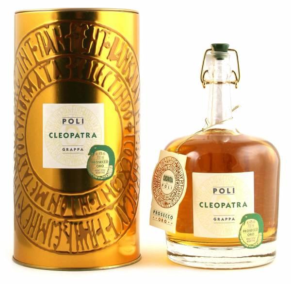 Poli Cleopatra Grappa Prosecco Oro 0,7l