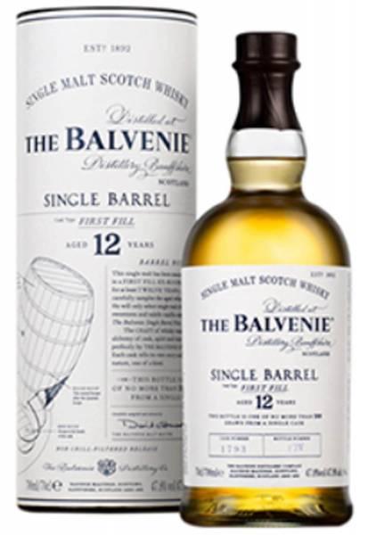 The Balvenie Single Barrel 12 Jahre 0,7 Liter