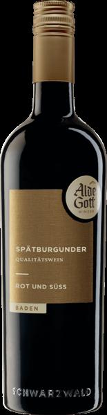 Alde Gott Spätburgunder Rot & Süß 0,75l