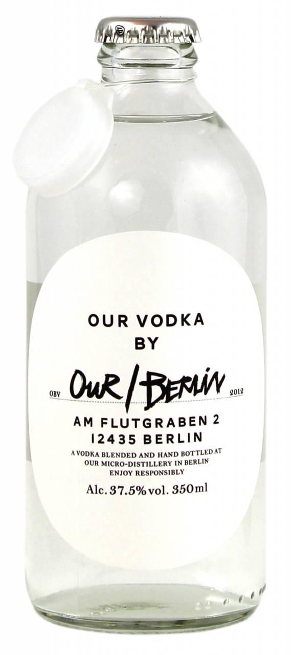 Our / Berlin Vodka 0,35 Liter
