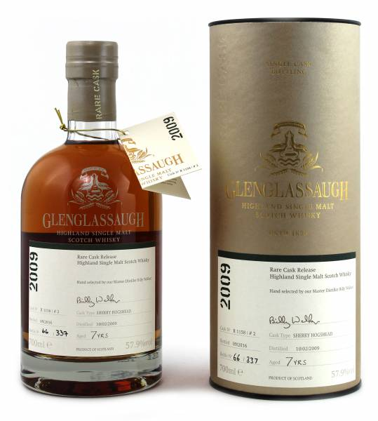 Glenglassaugh 7 Jahre Exclusive Cask R1158/#2