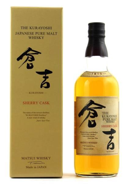 The Kurayoshi Sherry Cask Matsui Whisky 0,7l