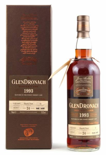 GlenDronach 1993 #43 24 Jahre Batch 15 0,7l