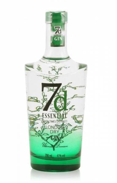 7d Essential London Dry Gin 0,7 Liter