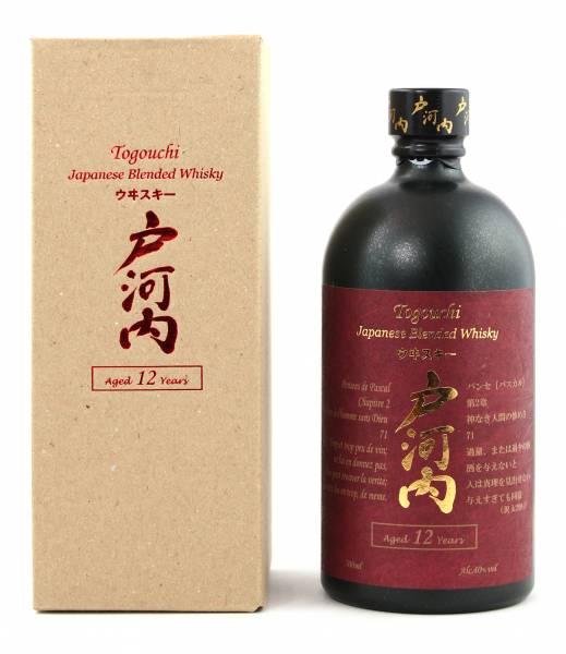 Togouchi 12 Jahre Blended Whisky 0,7 Liter