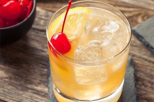 Whiskey Sour Cocktail Rezept