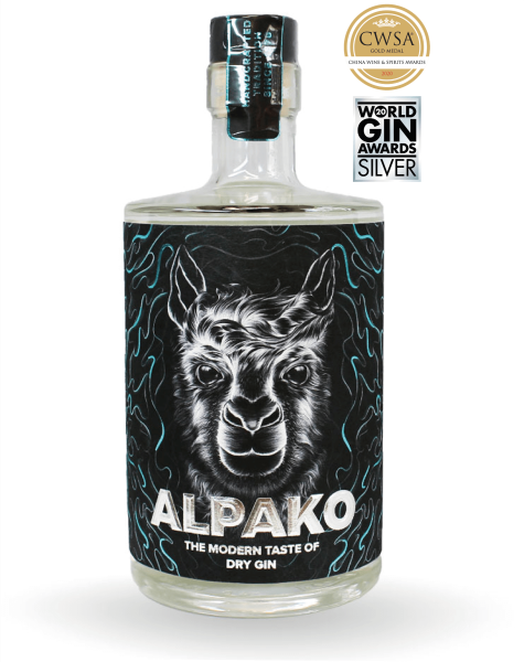 Alpako Gin 43% 0,5 Liter