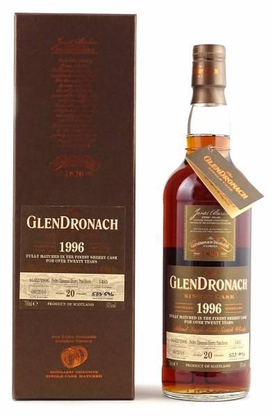 GlenDronach 1996 #1485 20 Jahre Batch 14 0,7 Liter