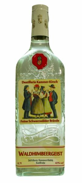 Kammer-Kirsch feiner Waldhimbeergeist 0,7 Liter