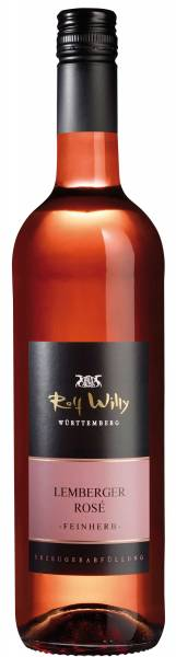 Rolf Willy Lemberger Rose feinherb QbA 0,75l