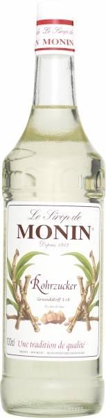 Monin Rohrzucker weiß pur Sirup 1 Liter