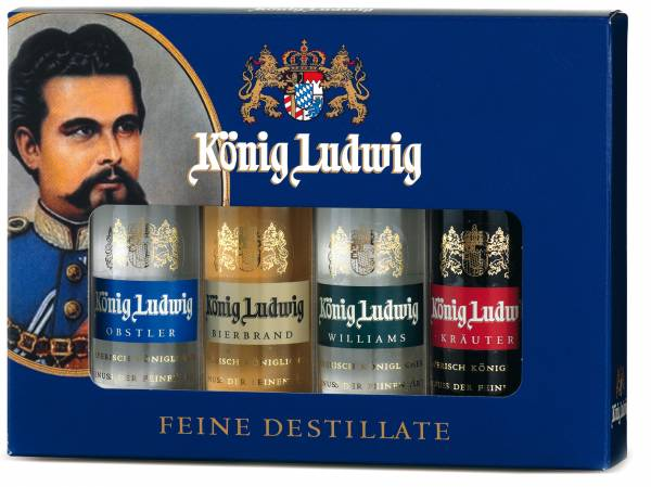 Lantenhammer König Ludwig Brände Set 4 x 0,05 Liter
