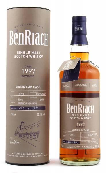 BenRiach 20 Jahre Cask #7859 Batch 15 0,7l