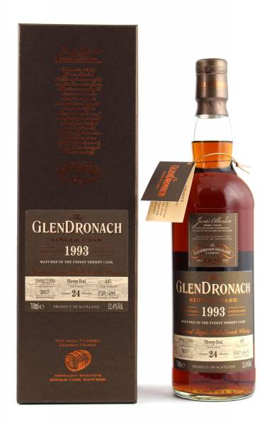 GlenDronach 1993 #445 24 Jahre Batch 16 0,7l