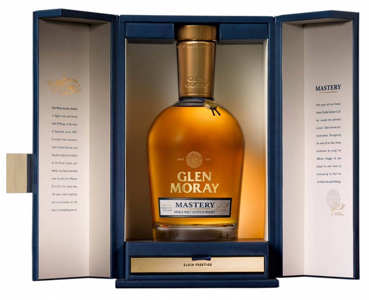 Glen Moray Mastery Whisky 0,7l