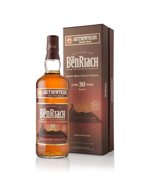 BenRiach Authenticus 30 Jahre 0,7 Liter