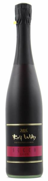 Rolf Willy Secco Leon roter Sekt 0,75l