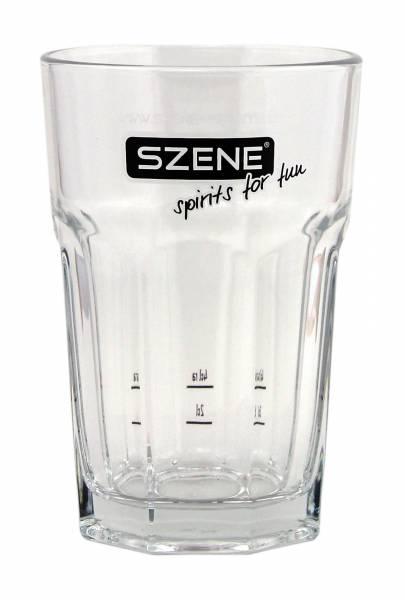 Szene Spirituosen Glas Longdrinkglas