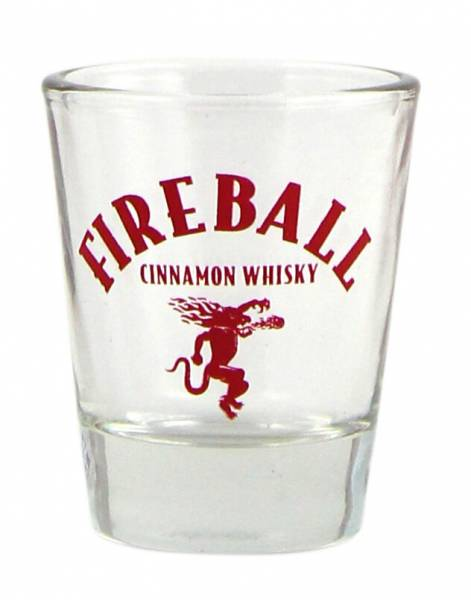 Fireball Whiskey Shot Glas
