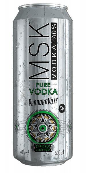 MSK Vodka 0,5l -Dose inkl. Pfand