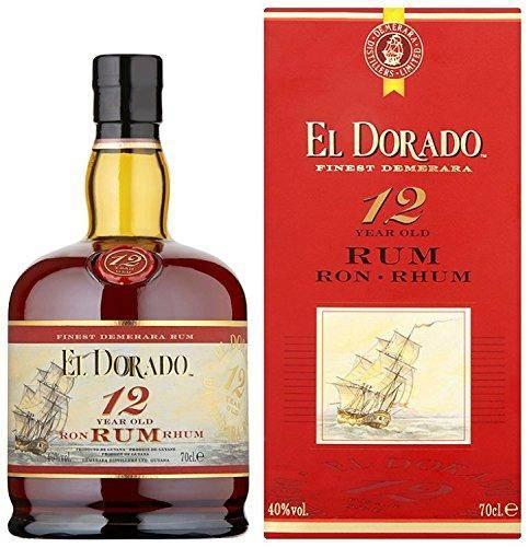El Dorado Rum 12 Jahre 0,7 Liter