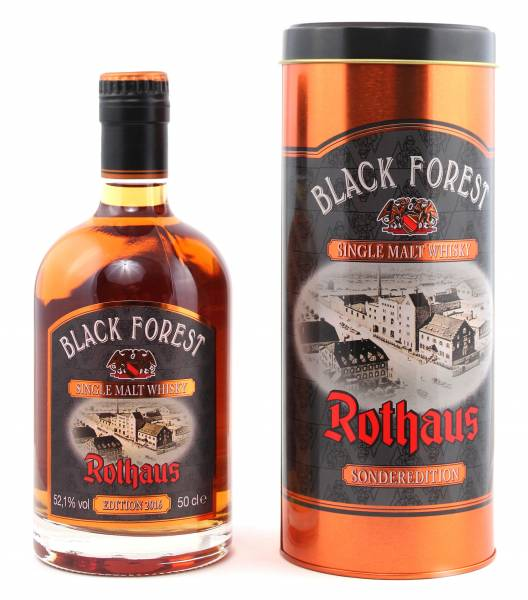Rothaus Black Forest Whisky Lemberger Cask Finish Edition 2016 0,5l