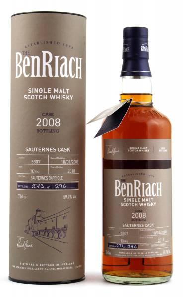 BenRiach 10 Jahre Cask #5807 Batch 15 0,7l