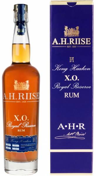 A.H. Riise X.O. Reserve Rum Kong Haakon 0,7l