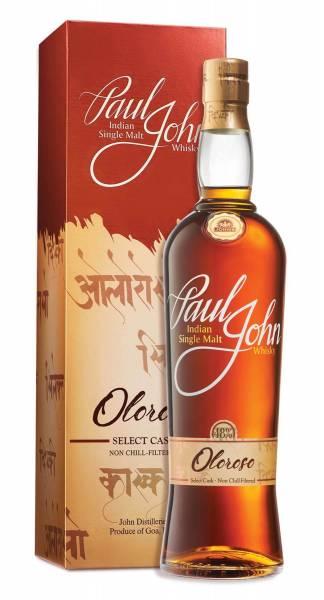 Paul John Oloroso Select Cask 0,7 Liter