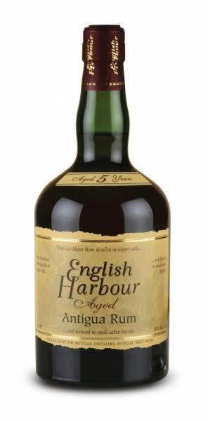 English Harbour Rum 5 Jahre 0,7 Liter