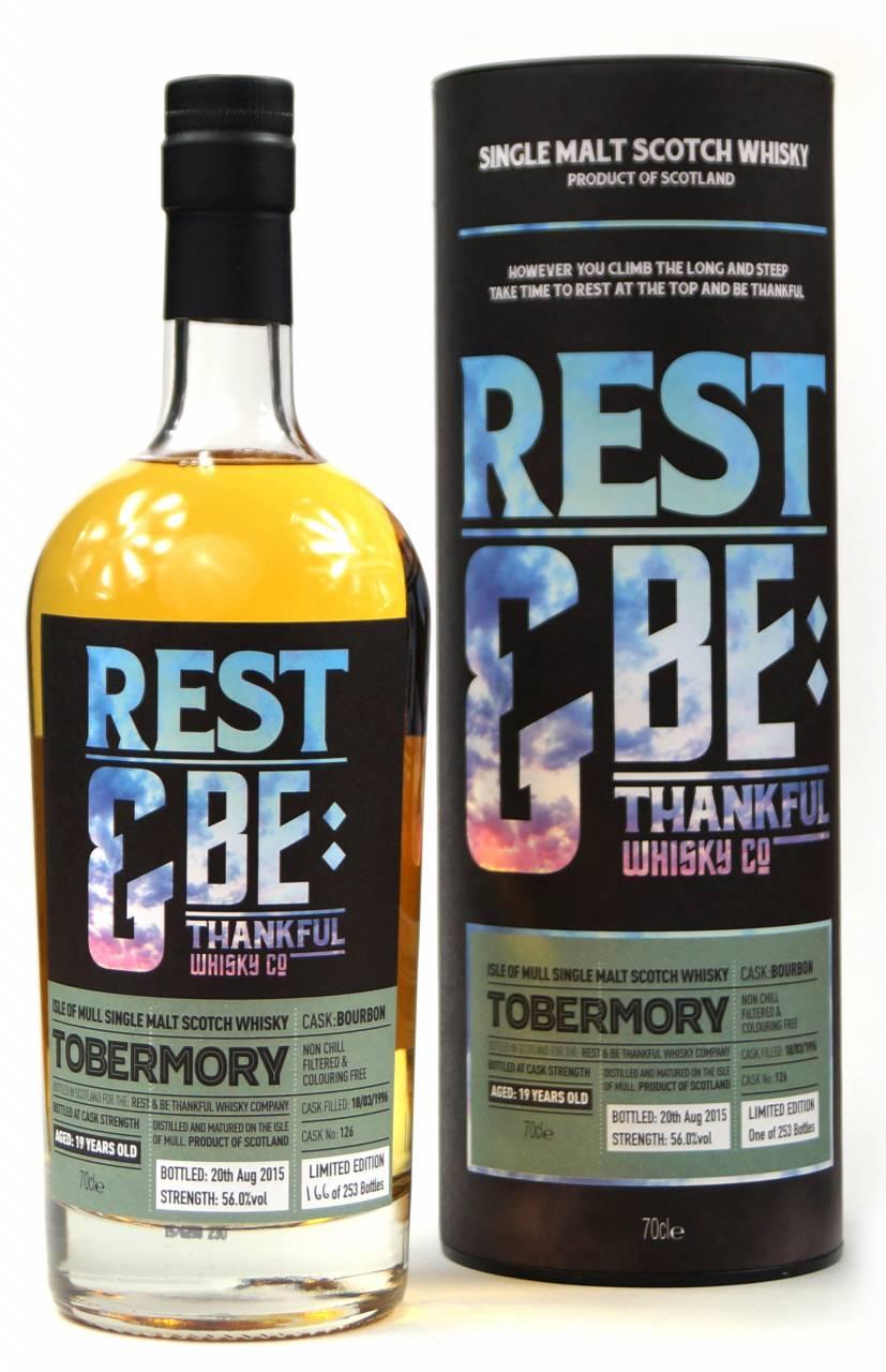 Tobermory 19 Jahre 1996 Bourbon #126 Rest & Be ...