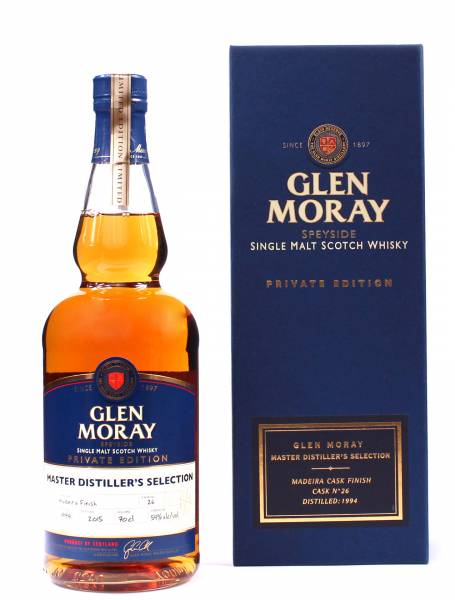 Glen Moray Madeira Cask Finish 1994 0,7 Liter
