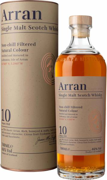 The Arran Malt 10 Jahre 0,7 Liter