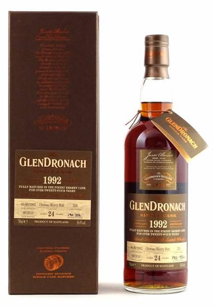 GlenDronach 1992 #226 24 Jahre Batch 14 0,7 Liter