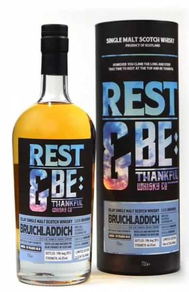 Bruichladdich 10 Jahre 2005 Bourbon Rest & Be 0,7 Liter