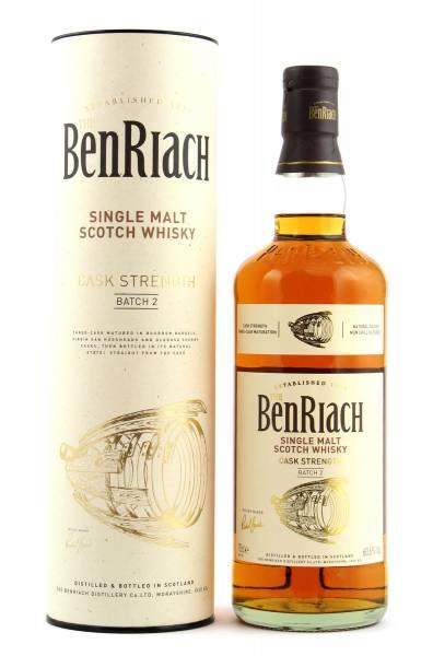 BenRiach Cask Strength Batch #2 0,7l