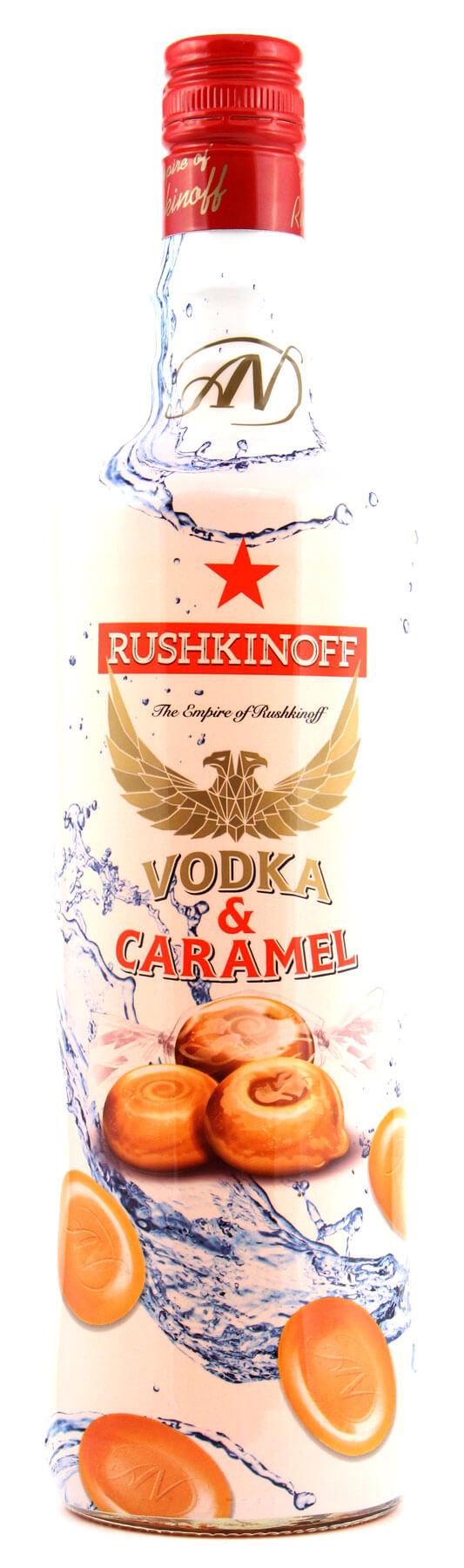 RUSHKINOFF VODKA CARAMEL KAUFLAND