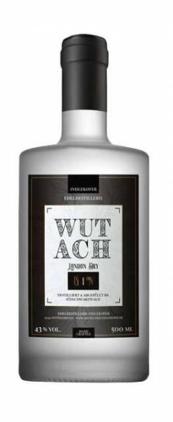WUTACH London Dry Gin 0,5 Liter