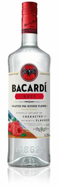 Bacardi RAZZ 1,0 Liter