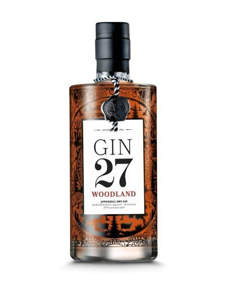 GIN 27 Woodland 0,7 Liter